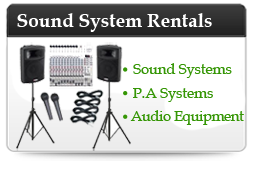Sound System Rental in Denver, CO